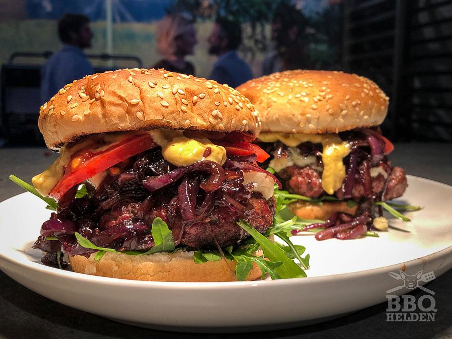 BBQ Hamburger (1) Recept