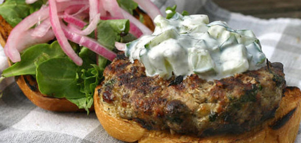 Griekse-burger
