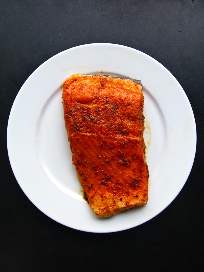 Verse-Zalm-in-sinaasappel-rub