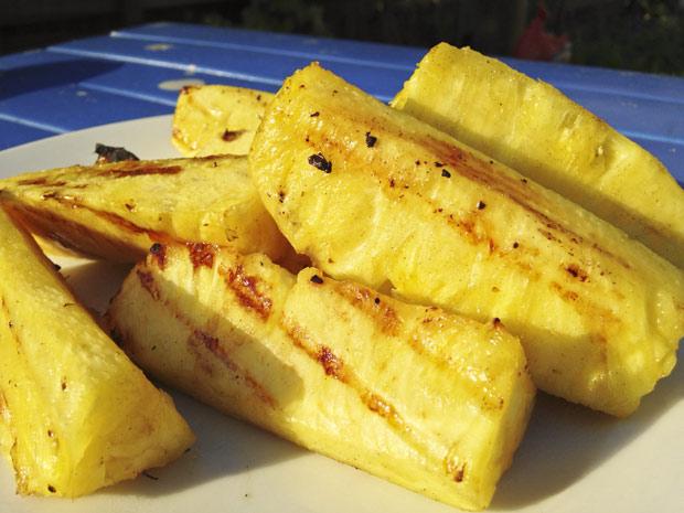 ananas-gegrild