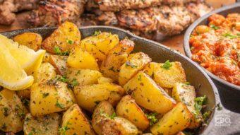Boter citroen aardappeltjes