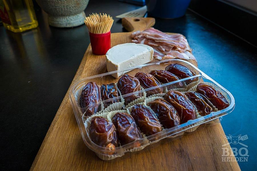 Gevulde dadels met geitenkaas – BBQ helden | Bbq recepten