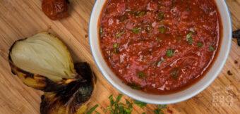 De makkelijkste gegrilde salsa
