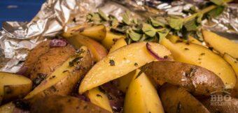 Griekse aardappeltjes uit de folie