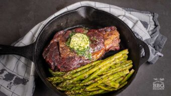 Hoe gril je een dure ribeye steak