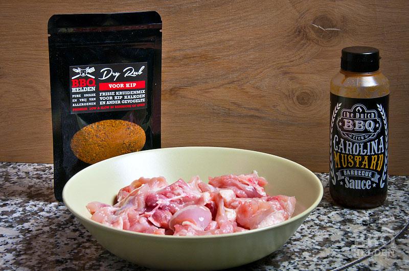 Dry rub voor kip of kalkoen – BBQ helden