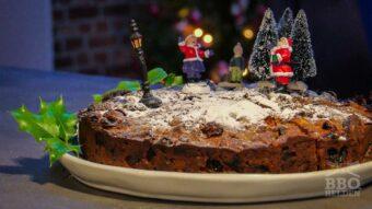 Kerst fruit cake