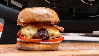 De klassieke cheeseburger