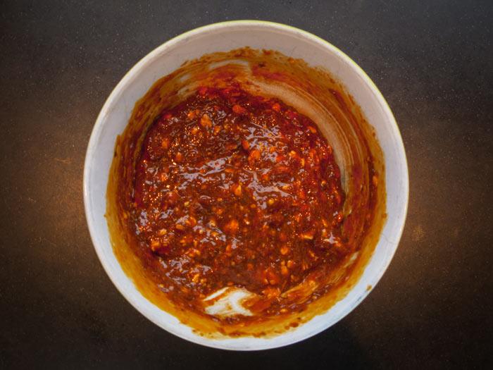 knoflook-pesto-pasta