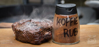 Koffie Rub Ribeye