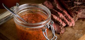 Rode Chimichurri als salsa of marinade