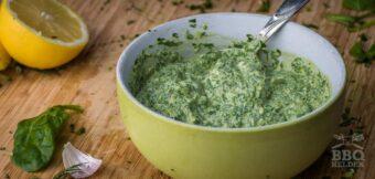 Salsa verde mayonaise