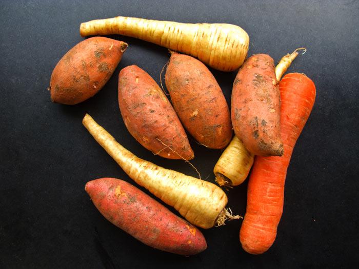 zoete-aardappel-pastinaak-en-wortel